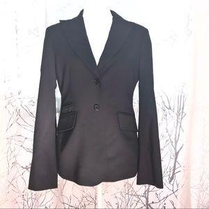 BCBGMAXAZRIA Black wool blazer